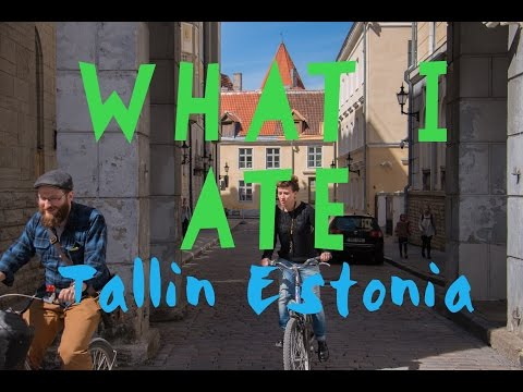 WHAT I ATE - TALLIN ESTONIA