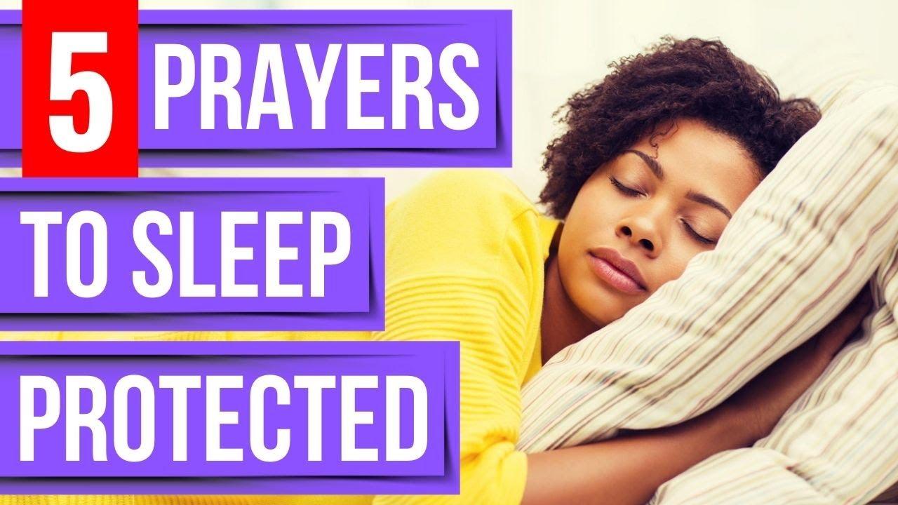 Prayer for sleep - Psalm 91, 121, 59, 27, 35 - Bible Verses for sleep (Sleep with God's Word)