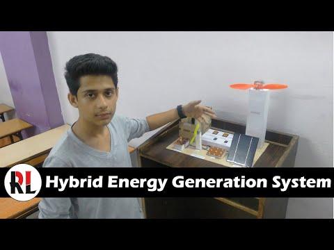 Hybrid Energy Generation : Robozz Lab