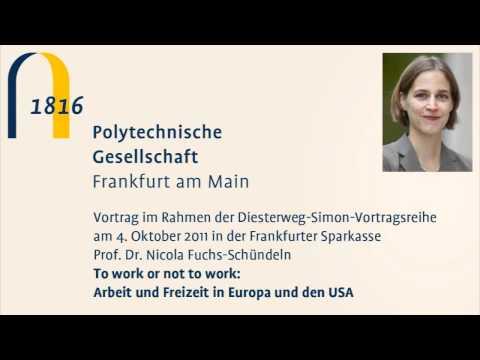 To work or not to work: Arbeit und Freizeit in Europa und den USA