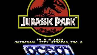 Jurassic Park (NES Music): Ocean Logo/Title Screen