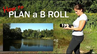 How to PLAN B ROLL SHOTS and TRANSITIONS | Behind the Scenes NATURE