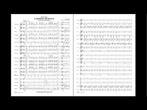Music from Carmina Burana by Carl Orff/arr. Jay Bocook