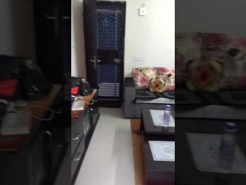 1 bhk living room interior done by me youtube for 1 bhk flat interior decoration