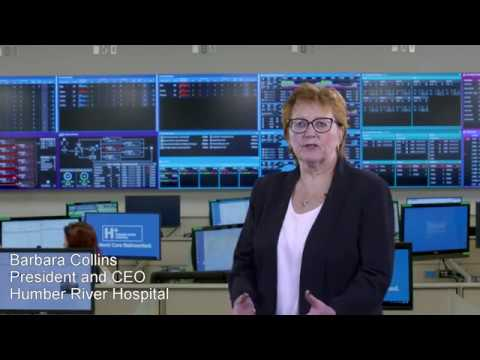 Giant video wall anchors Canada's first hospital command centre