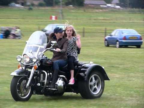 Harley Trikes For Sale >> Harley Davidson Road King Trike - YouTube