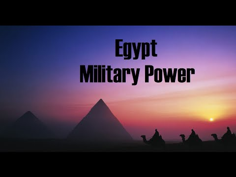 Egyptian Military Power /القوة العسكرية لمصر / Poder militar do Egito. ★