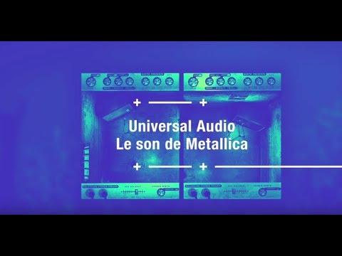 Le son de Metallica avec les plugins UAD: Guitare Obsession
