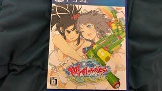 Senran Kagura Peach Beach Splash - PS4 Unboxing [4K, UHD Unboxing]