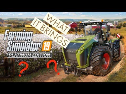 Farming Simulator 19 Platinum edition |