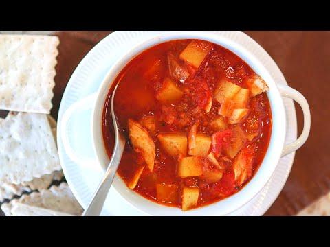 Spicy Spanish Smoked Fish Chowder Recipe