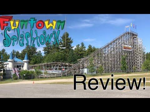 Funtown Splashtown USA Review, Saco ME
