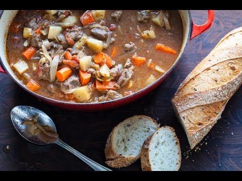 Martha Stewart's Lighter Beef Stew Recipe