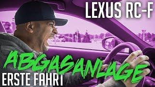 JP Performance - Lexus RC-F | Abgasanlage Erste Fahrt