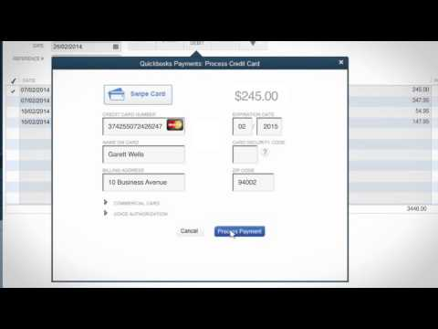 QuickBooks Payments: How to Process Credit Cards