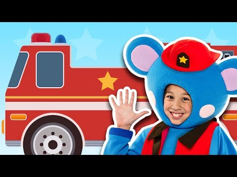 🚨 Fire Engine, Fire Engine | NEW RESCUE PATROL VIDEO | Mother Goose Club Songs for Children