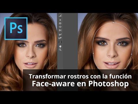 como adelgazar cachetes en photoshop elements