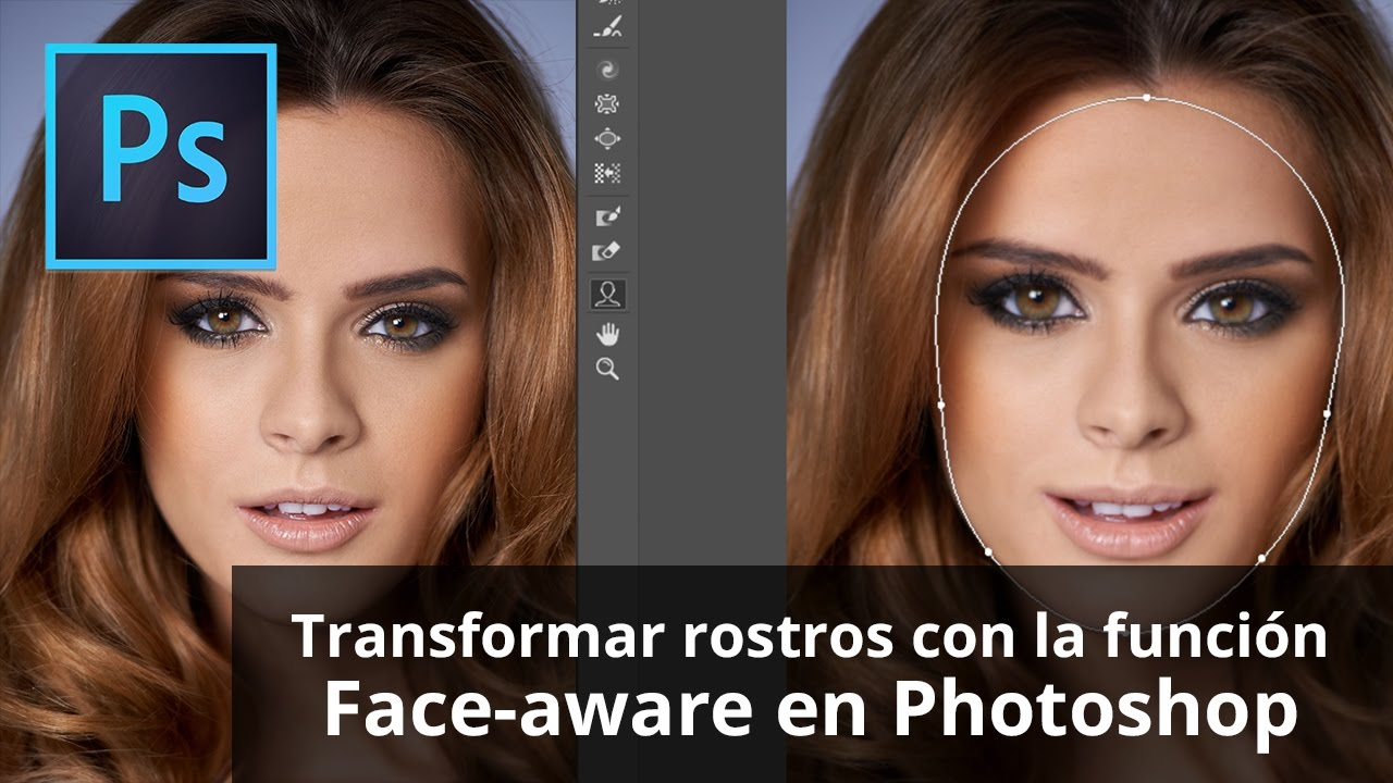 como adelgazar rostro en photoshop cs6