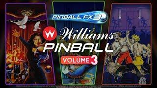 Williams Pinball Vol. 3 Now Available! Theatre of Magic! Championship Pub! Safe Cracker!