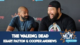 The Walking Dead's Khary Payton & Cooper Andrews - MCM Comic Con London - May 2018