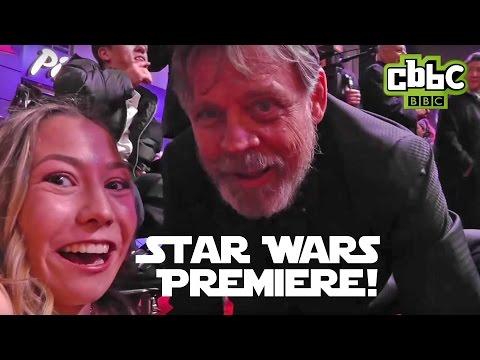 Star Wars: The Force Awakens Premiere with CBBC's Annabelle Davis!