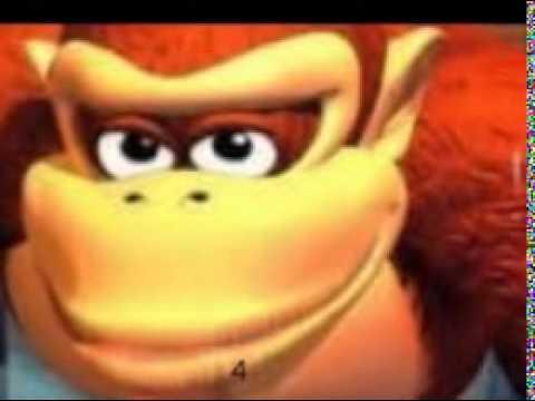 Donkey Kongs Rape Face