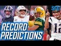 NFL WIN-LOSS RECORD PREDICTIONS 2018! PROJECTIONS FOR EVERY TEAM!