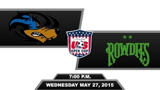 U.S. Open Cup: Pittsburgh Riverhounds vs. Tampa Bay Rowdies 5-27-15