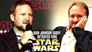 Rian Johnson Is Sorry He Betrayed Fans! (Star Wars Explained)