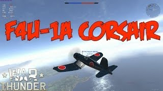 war thunder gameplay premium japanese f4u 1a corsair realistic battles