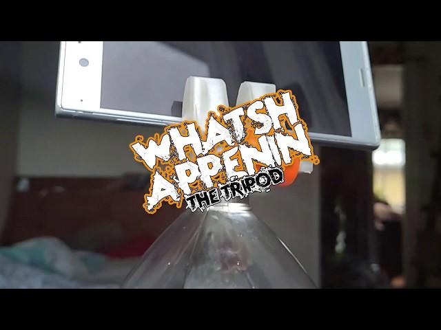 Whatshappenin tripod (3D-printable)