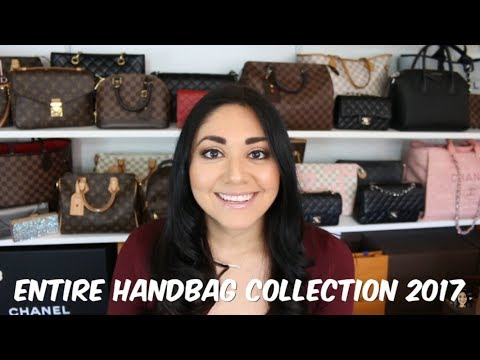 My Entire Handbag Collection 2017 + Mod Shots | Minks4All