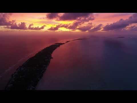Kiribati Sunset at Tarawa Lagoon