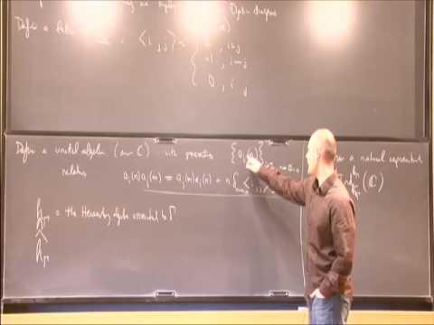 The Heisenberg Algebra in Symplectic Algebraic Geometry - Anthony Licata
