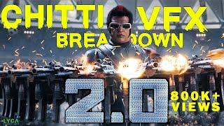 2.0 - CHITTI VFX Breakdown | Rajinikanth | Akshay Kumar | A R Rahman | Shankar | Subaskaran
