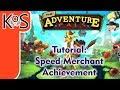 Adventure Pals TUTORIAL: SPEED MERCHANT ACHIEVEMENT, TROPHY - How to, Gameplay