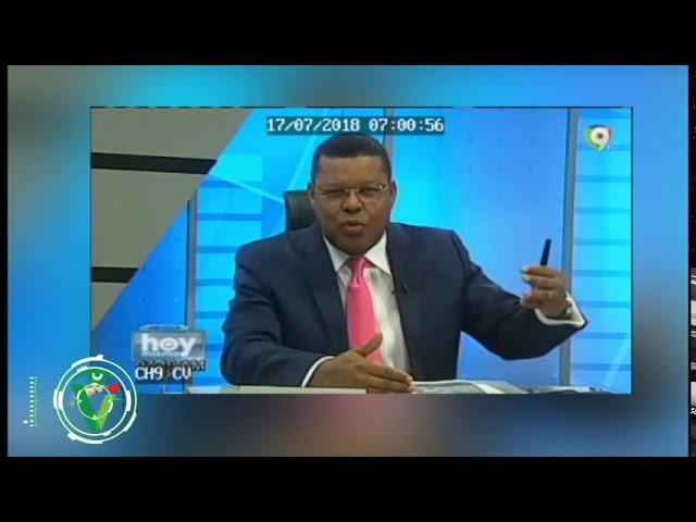 Dany Alcántara pide renuncia de Adriano de la Cruz presidencia CDP