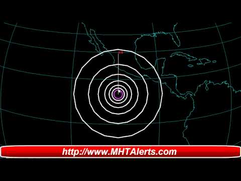 Earthquake Alert M 6 0 Northern East Pacific Rise