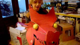 Making a Chinese dragon part 1 the construction