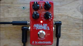 Ambient Guitar Swells with the TC Hall of Fame 2 Shimmer Reverb