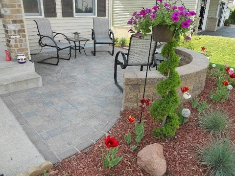 Small Front Patio Youtube