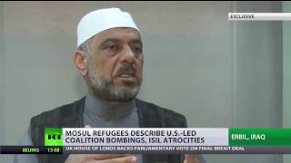 'When the army started fighting ISIS, we were on receiving end of both sides'   Mosul resident to RT