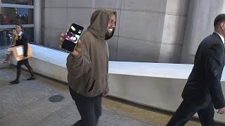 x17 exclusive kanye west includes the paparazzi in his facetime