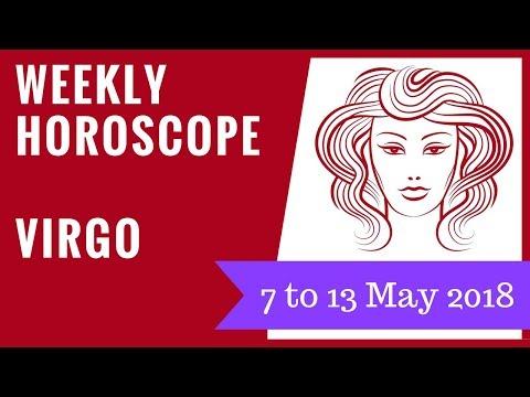 Virgo weekly horoscope 7 to 13 May 2018