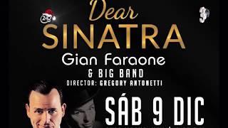 "¡A petición del público! Gian Faraone llega este 9 de diciembre a Caracas con ""Dear Sinatra"""