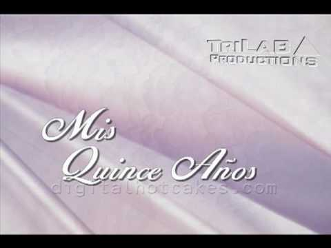 Animated Titles for Quinceañera by Digital Hotcakes Write-On ...