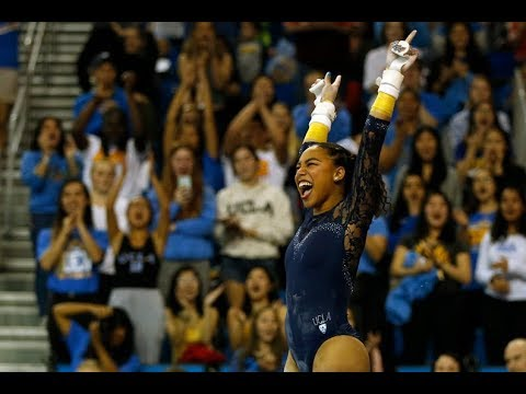 UCLA women's gymnastics celebrates Black History Month, 'carrying history' from past to present