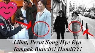 PERUT BUNCIT SAAT FOTO BARENG FANS, SONG HYE KYO SUDAH HAMIL??!!