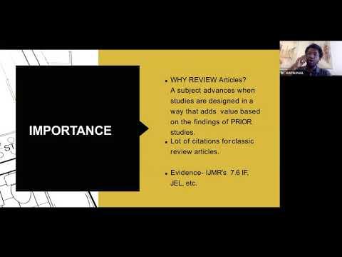 Literature Review Video Ganpat