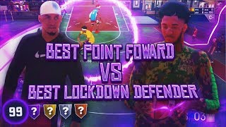 GAME OF THE YEAR! Best Point Forward VS Best LockDown On NBA 2K19